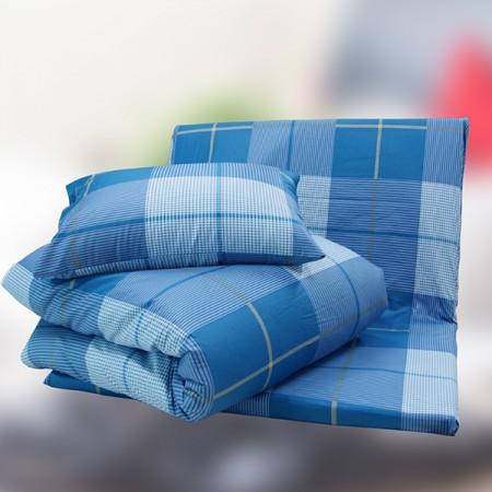 【TRP】七件式純棉亞藤床墊被枕組(花色隨機出貨)