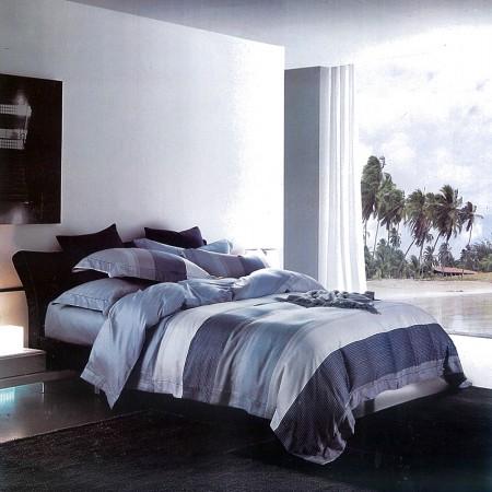 【Indian】新科技天絲吸濕排汗雙人加大兩用被床包四件組-海風