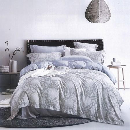 【Indian】新科技天絲吸濕排汗雙人加大兩用被床包四件組-藍尹