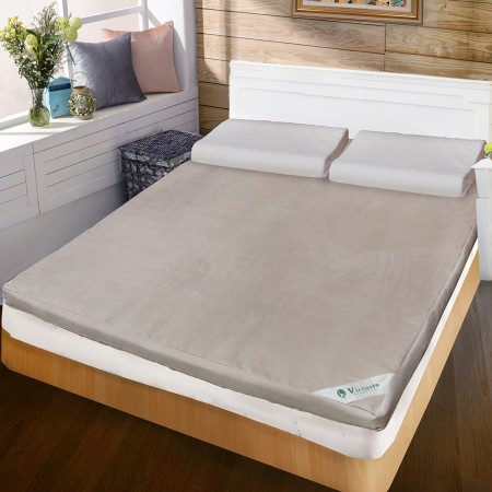 【Victoria】備長碳雙人記憶床墊-8cm(5*6.2)