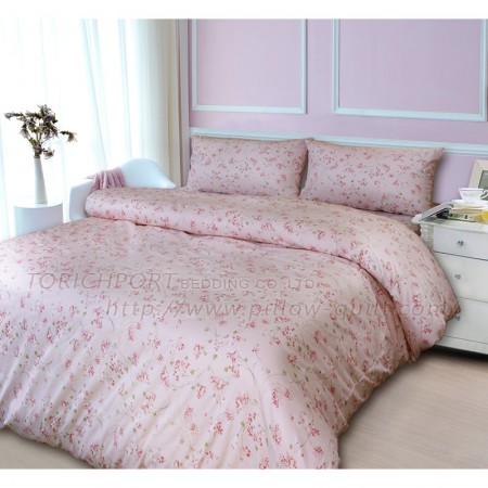 【Victoria】純棉雙人床包組-花戀