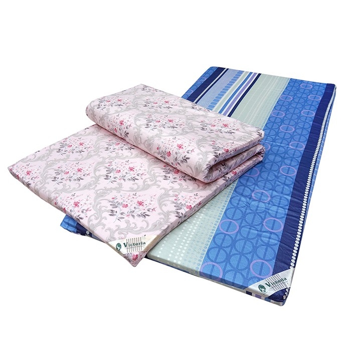 【Victoria】單人天然乳膠床墊-4公分(3*6.2)