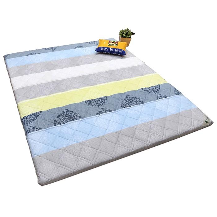 【Victoria】日式防蟎雙人透氣床墊(花色隨機出貨)