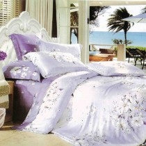 【Victoria】天絲雙人六件式床罩組-花語