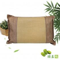 3D透氣綠豆枕(1顆)