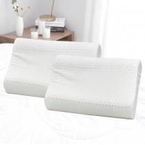 【Victoria】抗菌人體工學乳膠枕(2顆)