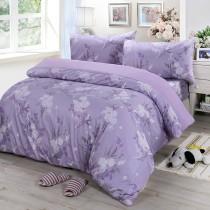 【Victoria】單人三件式純棉被套床包組-雅致