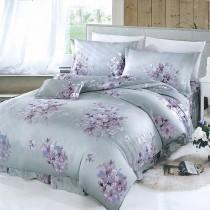 【Victoria】新科技天絲抗菌吸濕排汗五件式雙人床罩組-繁花