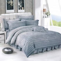 【Victoria】天絲3M抗菌吸濕排汗加大床包兩用被組-爵士