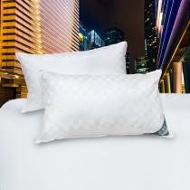 【皮斯佐丹】飯店專用緹花羽絨枕(2顆)-加價購