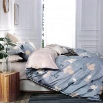 【Victoria】抗菌五件式雙人加大床罩組-風情
