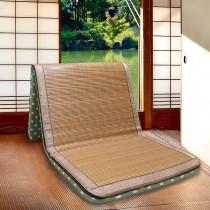 【Victoria】日式編織單人竹床墊(竹面樣式隨機出貨)