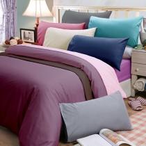 【皮斯佐丹】玩色彩方格紋單人床包被套枕套三件組(多款顏色任選)