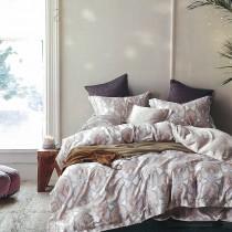 【Indian】雙人四件式100%純天絲兩用被床包組-納沙