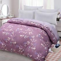 【FITNESS】精梳棉雙人鋪棉兩用被套-馬格森特(紫紅)