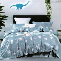 【Indian】新科技天絲吸濕排汗雙人加大五件式床罩組-星夢語