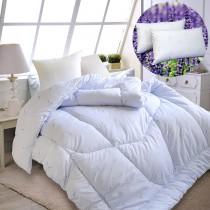 《超值組》【Victoria】薰衣草芳香舒眠被(雙人)+薰衣草芳香枕(2顆)