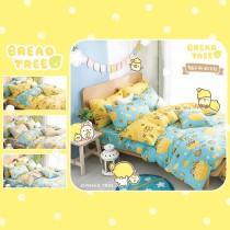 【BREAD TREE】麵包樹純棉雙人四件式兩用被床包組-檸檬派對(多款任選)