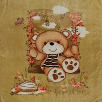 【Victoria】甜蜜熊單人毛毯