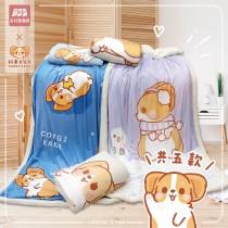 【柯基犬卡卡】水晶羊羔毯(五款任選)-品牌聯名獨家合作