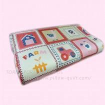 【Victoria】成長型乳膠枕-可愛的家(1顆)