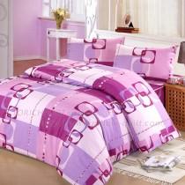 【Victoria】防蟎兩用被-旋律紫
