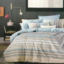 【Indian】 克拉  加大四件式純綿兩用被床包組