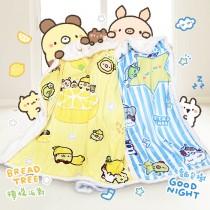 【BREAD TREE】麵包樹水晶羊羔絨雙面多用毯(兩款任選)-品牌聯名獨家合作